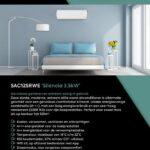 Web SAC12SRWE Slaapkamer voorzijde flyer